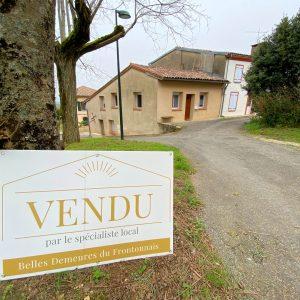 Maison - appartements vendus à Vacquiers par l'agence BDF