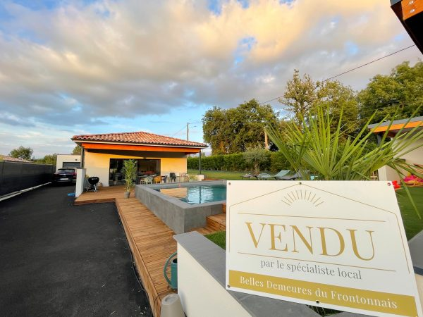 Une maison vendue par la meilleure agence immobilière de fronton et du nord de Toulouse : belles demeures du frontonnais