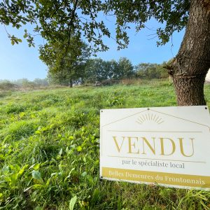 Terrain constructible fronton vendu par l'agence immobilière belles demeures du frontonnais